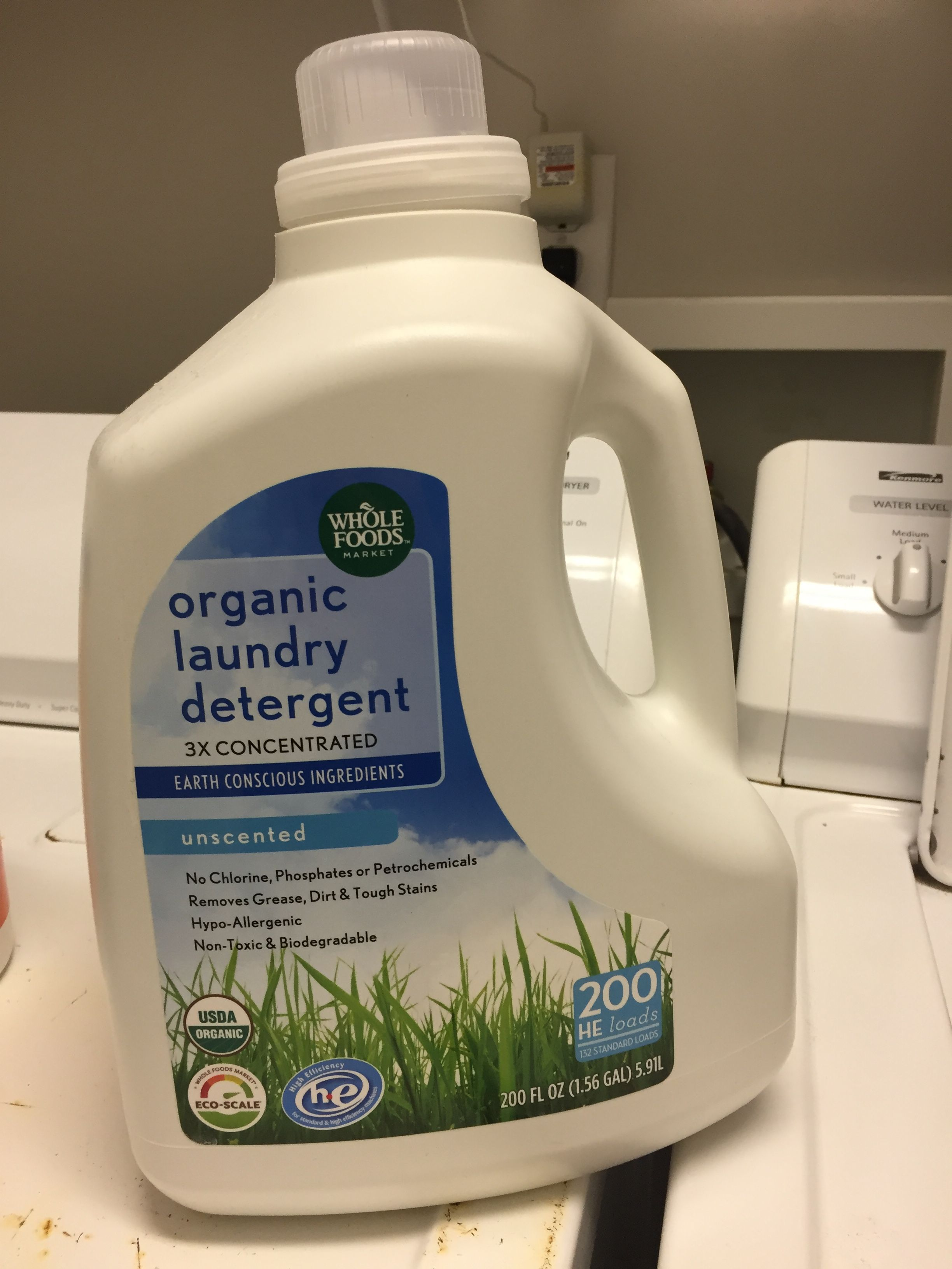 Laundry Detergent From Whole Foods Organic Laundry Detergent