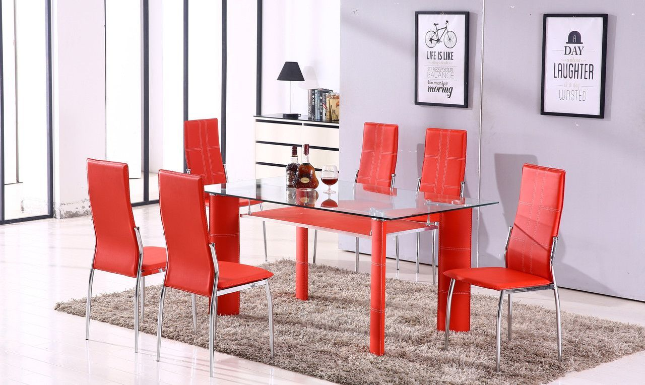 Star Dining Room Table Chairs (set of 6)