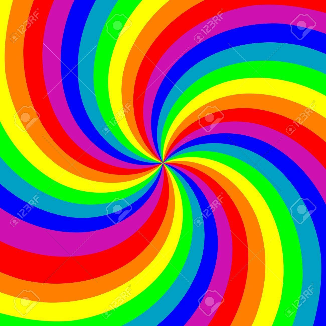 Rainbow Lollipop Swirl Wallpaper Rainbow Wallpaper Wallpaper Rainbow Lollipops