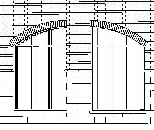RevitCity com | Object | Half Arch with Brick Header | Condo