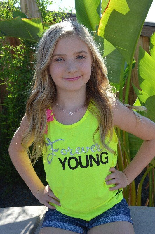 Forever Young - Girls Clothing - Forever Young Tank -3949