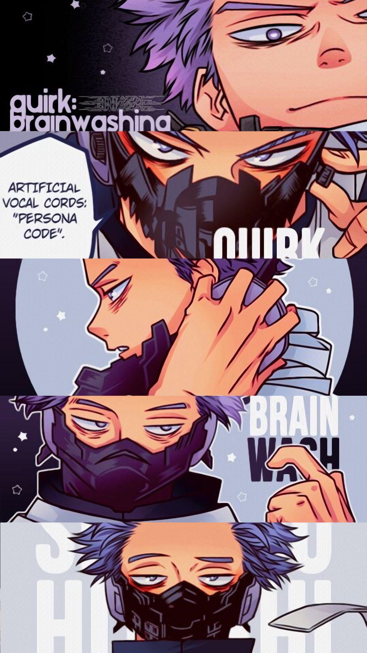 Shinsou Hitoshi My Hero Academia Manga My Hero Anime