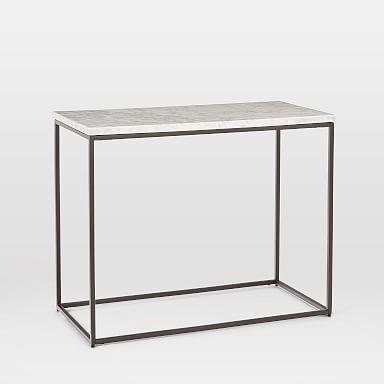 Best Streamline Side Table Marble Modern Side Table Black 400 x 300