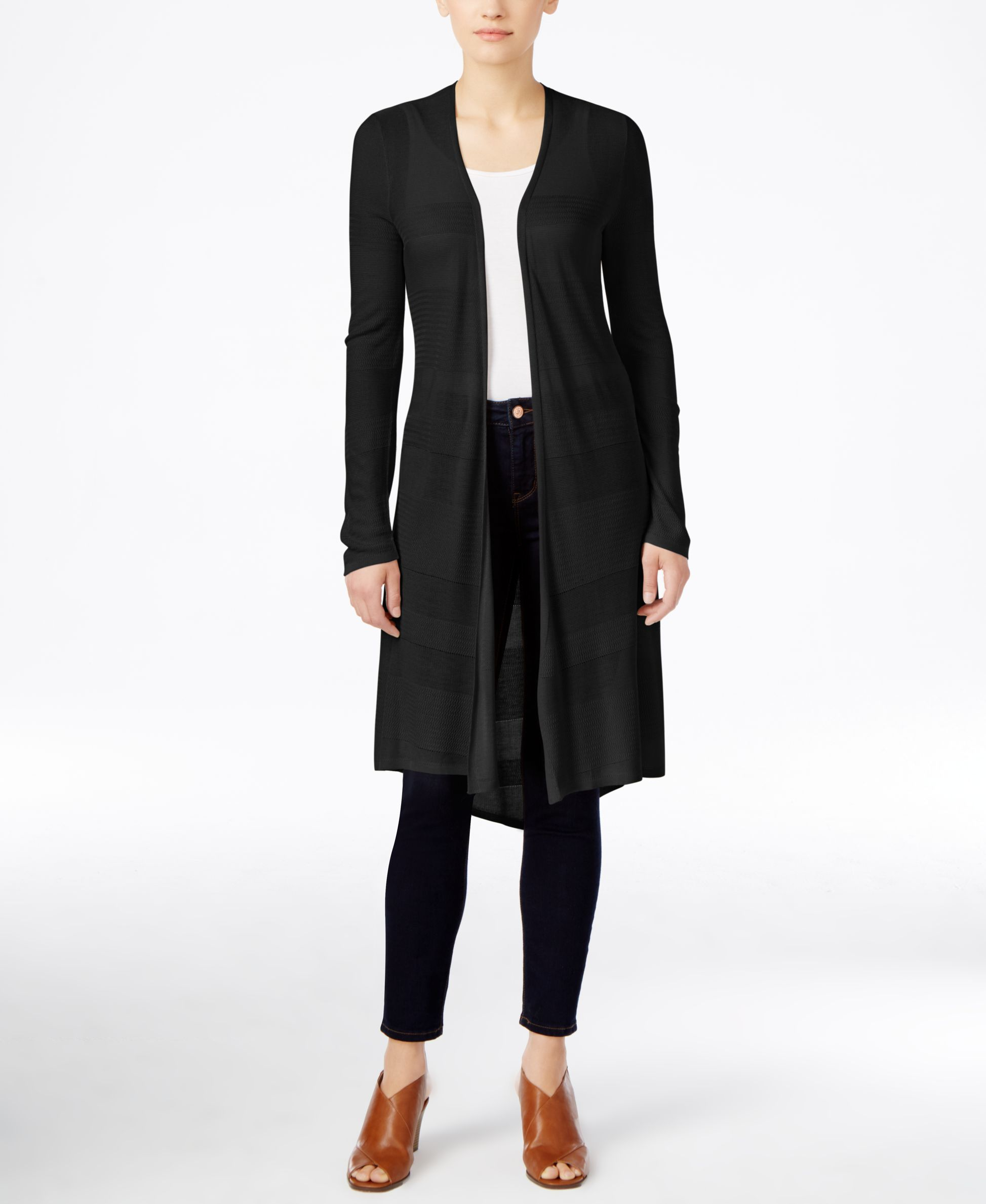 Style & Co. Long Duster Cardigan Sweater, Only at Macy's | Cool ...
