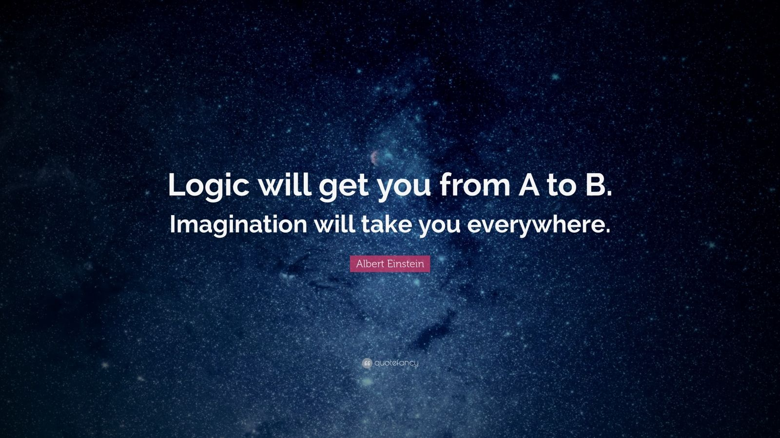 """Logic Quotes Inspirational Entrepreneurship Quotes """"Logic Will Get You From A"""