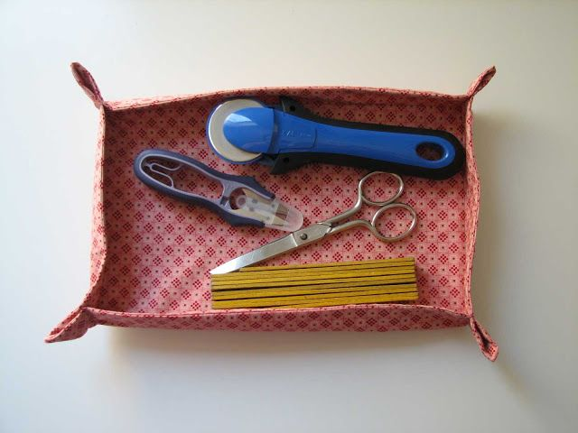 Deshilachado: Tutorial: bandeja de tela / Tutorial: fabric tray