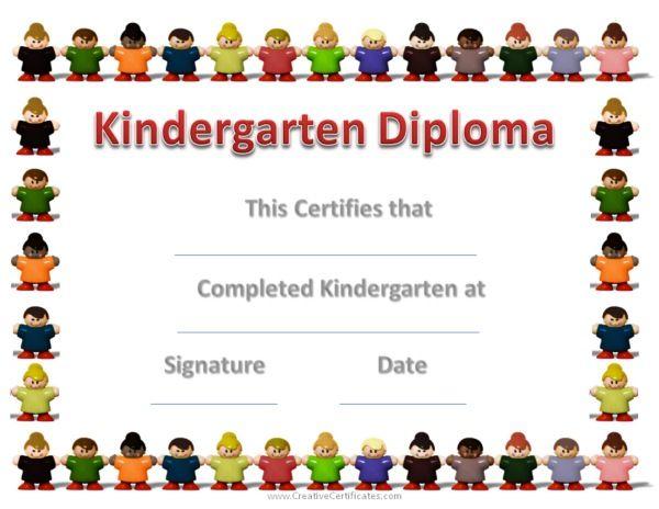 23 Images Of Preschool Graduation Label Template Photomeat Com Graduation Certificate Template Kindergarten Graduation Certificate Preschool Diploma Template