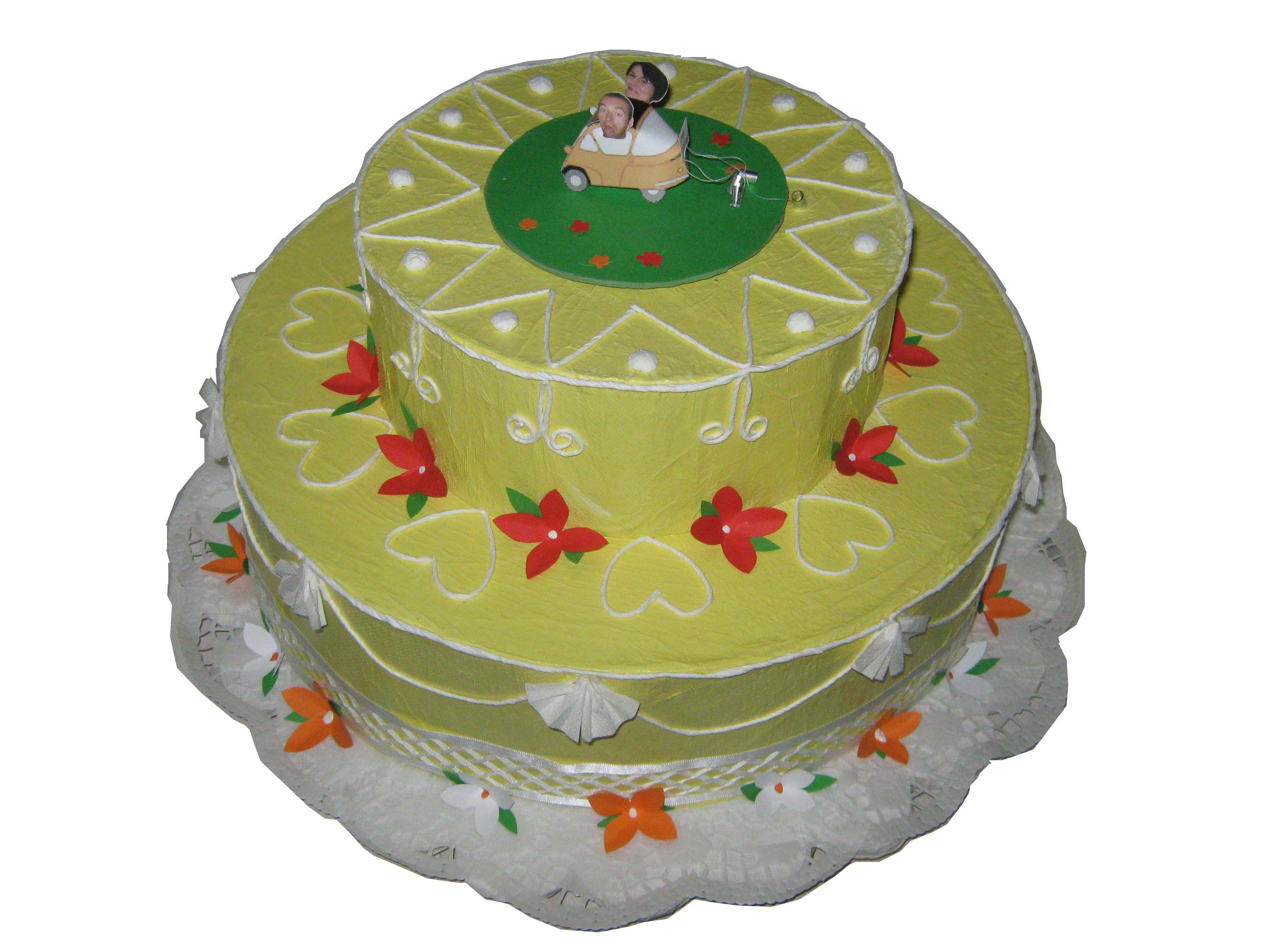 torta box per matrimonio