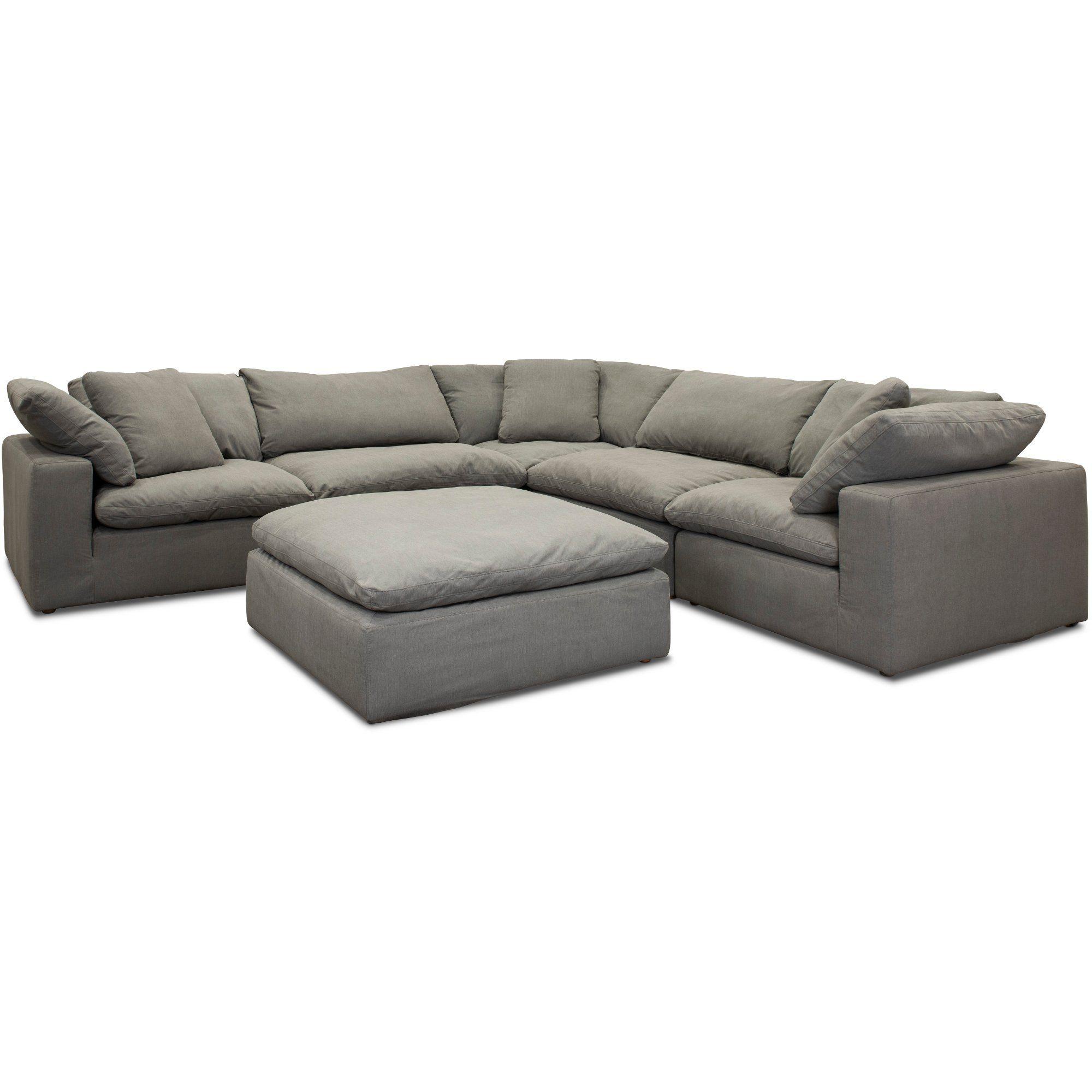 Slate Gray 5 Piece Sectional Sofa Peyton Rc Willey Furniture Store In 2020 Sectional Sofa Furniture Sectional