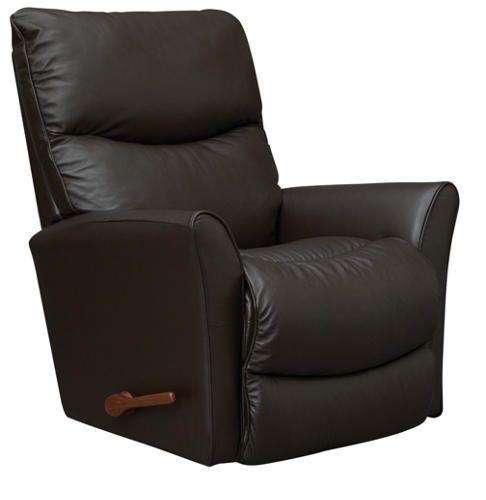 Rowan Dark Brown Leather Rocker Recliner Reclining Sofa Leather Recliner Recliner