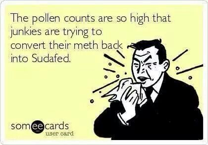 It S Bad Allergies Funny Ecards Funny Bones Funny