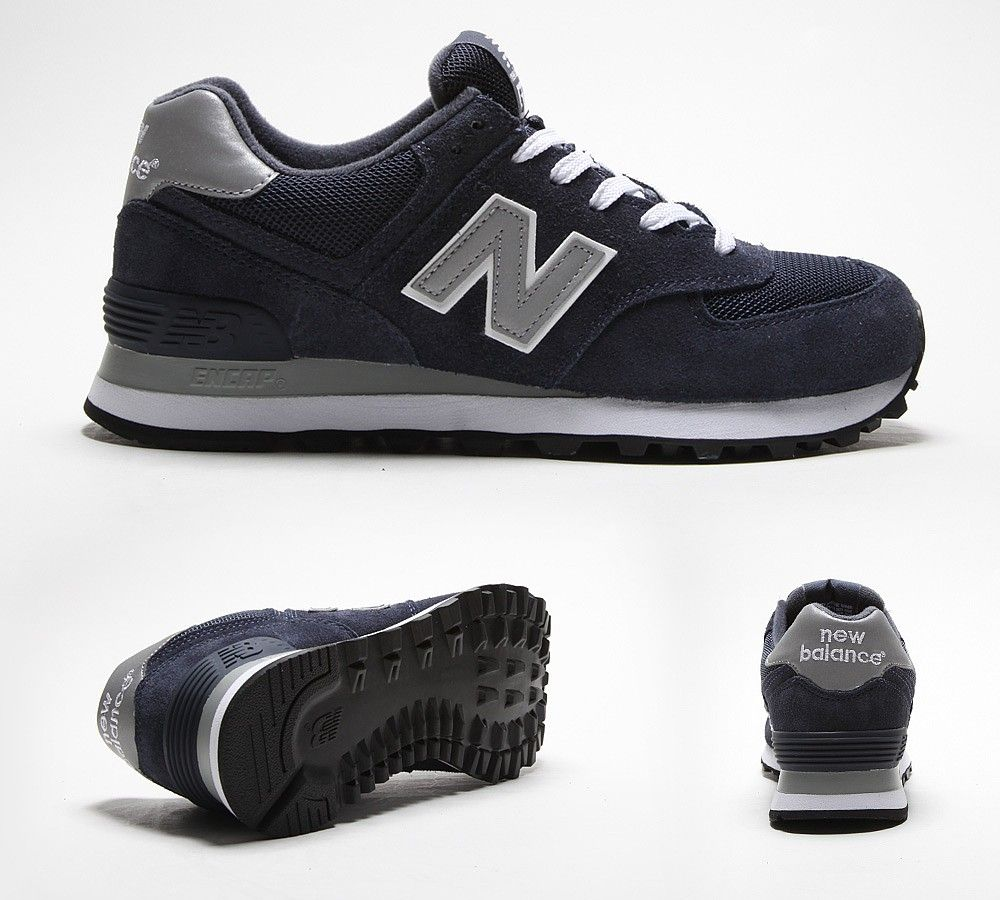 New Balance Black & Navy 574 Trainers Junior | £27.99 | Westquay