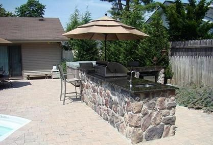 Long Island outdoor barbeque bbq contractors our outdoor barbeque