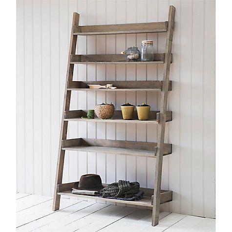 Buy Garden Trading Wide Aldsworth Shelf Ladder Online at johnlewis ...