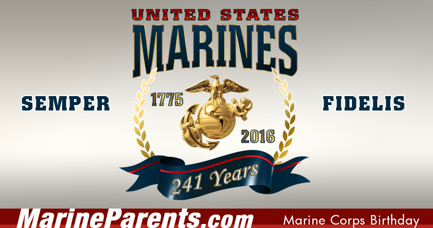 The 241st Marine Corps Birthday is November 10th! Learn