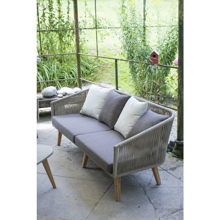 Banquette 2 Places Orchis Agrement De Jardin Mobilier Salon Et