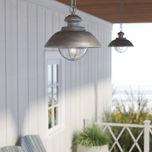 Archibald 1 Bulb 10 75 H Outdoor Pendant Outdoor Hanging Lights Outdoor Barn Lighting Outdoor Pendant Lighting