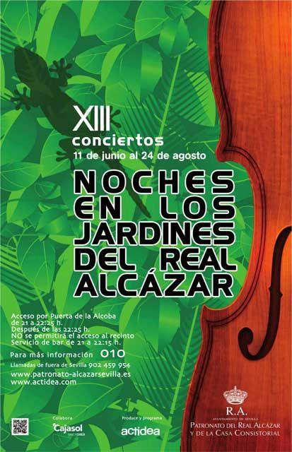 Noches en los Jardines del Alcázar 2012 | Juan Miguel Muñoz