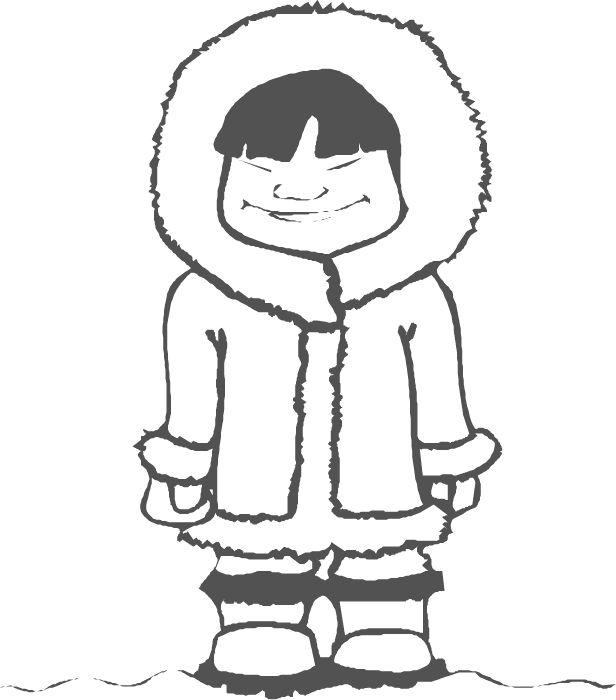 Eskimo illustration | Arktida, Antarktida | Pinterest ...