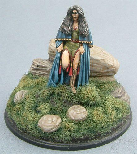 Ravenstone - Female Witch - Miniature Lines