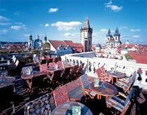 Prince Terrace Restaurant Prague Recommendated By Rick Steves Eye Level Of The Clock Tower