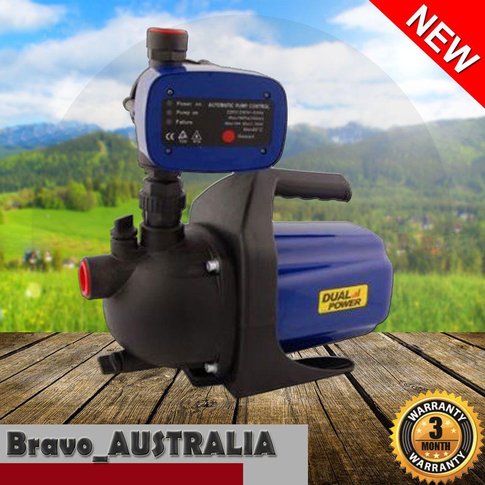 1.6hp Water Pump Garden Rain Tank Irrigation Auto Pressure
