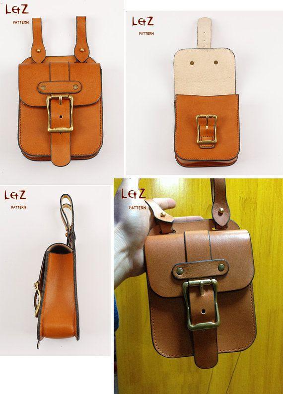 bag sewing patterns waist bag patterns PDF BXK01 par LZpattern ...