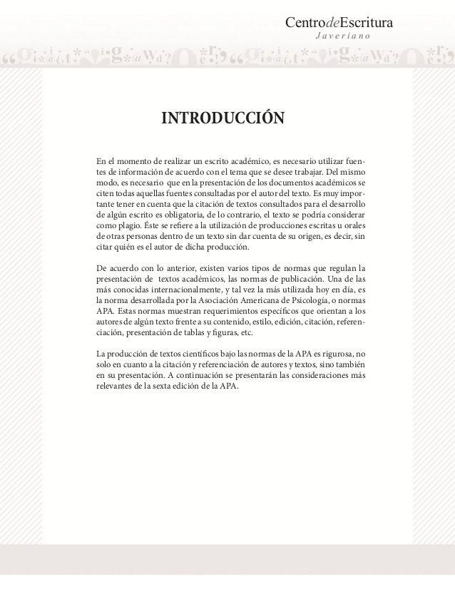 Normas APA 2017 – 6ta (sexta) edición   Normas APA.   Pinterest ...