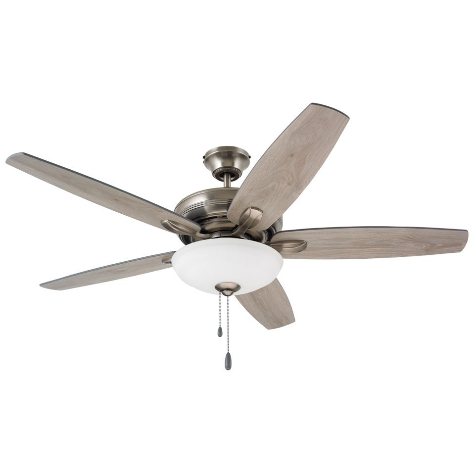 Ashland Ceiling Fan From Emerson In Antique Pewter With Timber