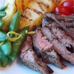 Miso-Glazed Skirt Steak - Allrecipes.com