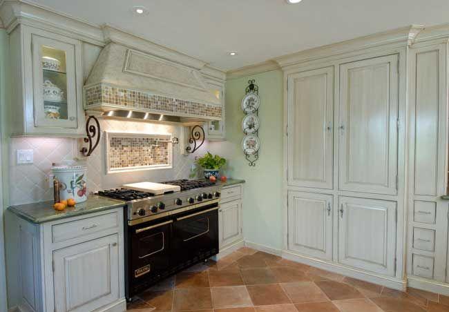 white cabinet kitchen | English cottage kitchens, Cottage ...