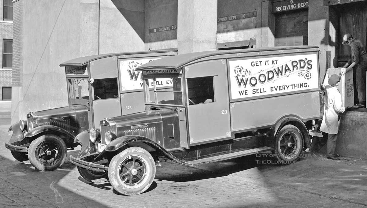 """Woodward's, Ltd. """"We Sell Everything"""", Vancouver, B.C"""