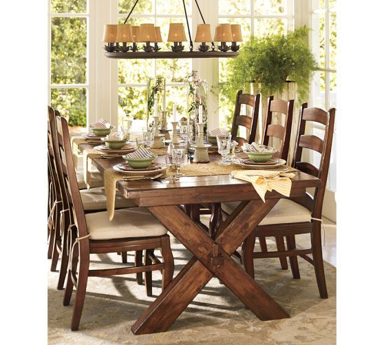 Toscana Extending Dining Table Alfresco Brown For The