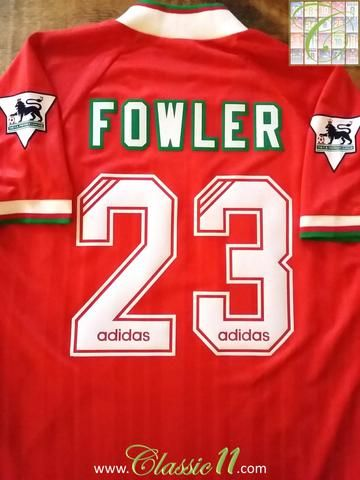 super popular 87048 c4fe4 Relive Robbie Fowler's 1993/1994 Premier League season with ...