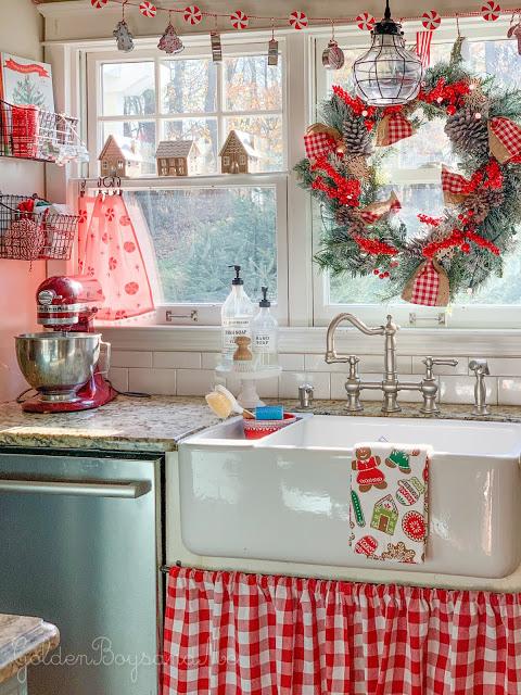 our christmas kitchen 2019 christmas kitchen farmhouse style kitchen kitchen collection on farmhouse kitchen xmas id=59174