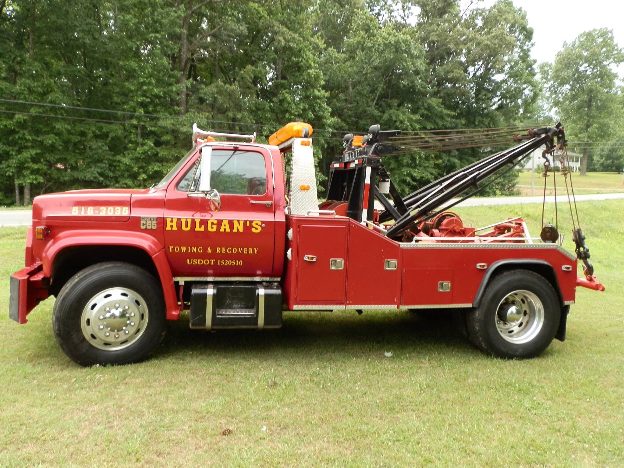 Hulgan S Hammondville Al Chevy C65 W Holmes 600 Unit With