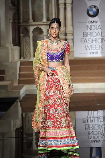 Abu Jani   Sandeep Khosla - BMW India Bridal Fashion Week 2015 ... fe378df7228