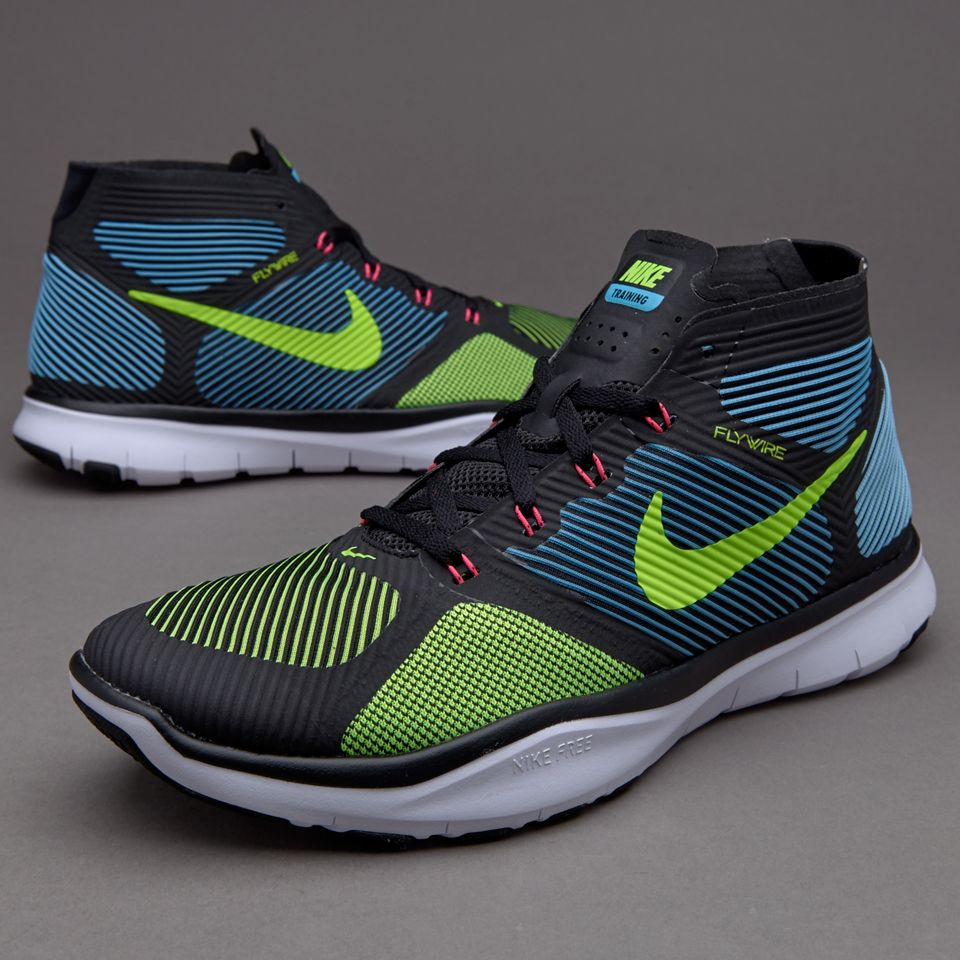 Nike Free Train Instinct - Mens Shoes - Black/Electric Green/Gamma  Blue/Hyper Pink