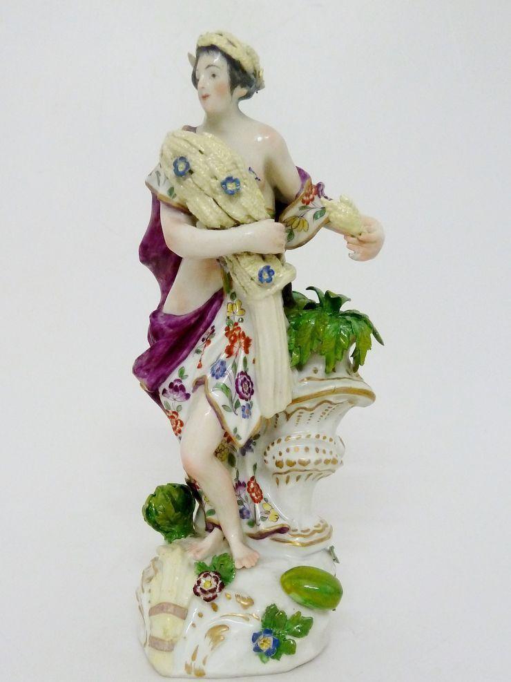 Samson Paris Allegorische Figur  Sommer  aus einer Serie der vier Jahreszeiten