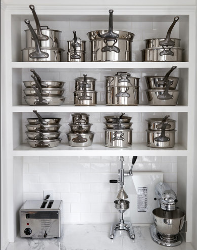 I need new pots and pans and appliances (like some that will last!) and I love how matchy these all are...