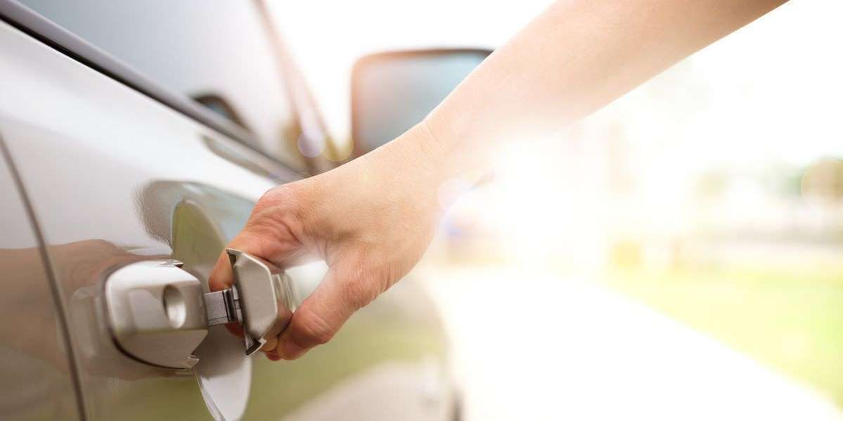 How to unlock a car door when youve locked yourself out