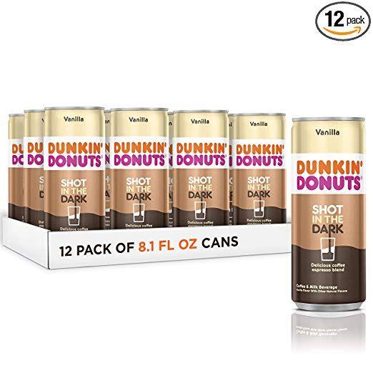 Dunkin Donuts Shot In The Dark, Coffee Espresso Blend