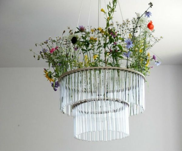 Lampenschirm selber machen - Bastelideen aus Alltagsgegenständen ...