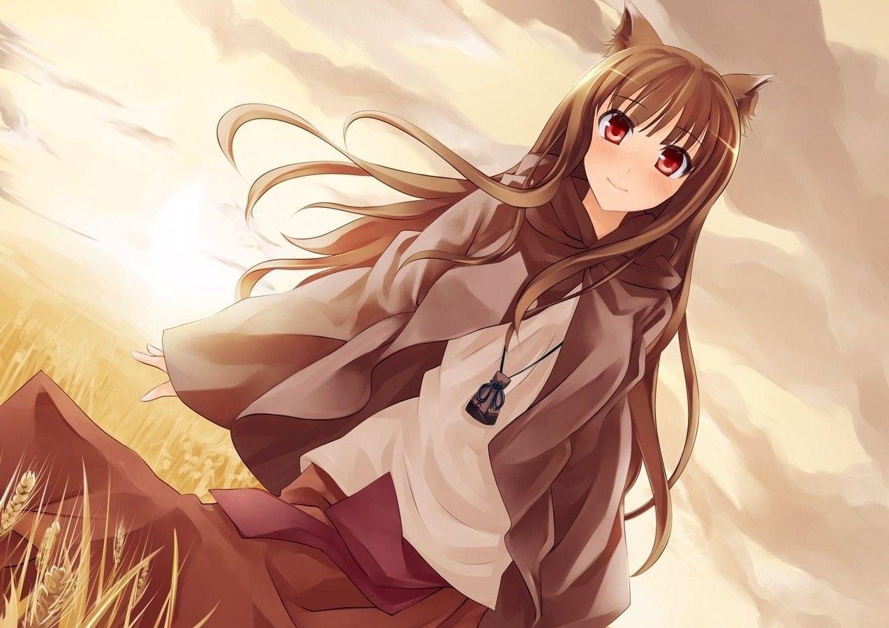 Spice And Wolf Horo Iv Hd Desktop Wallpaper High Definition Manga Anime