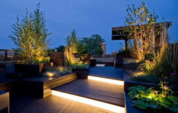 id es pour un clairage ext rieur indirect clairage ext rieur ext rieur et th s. Black Bedroom Furniture Sets. Home Design Ideas