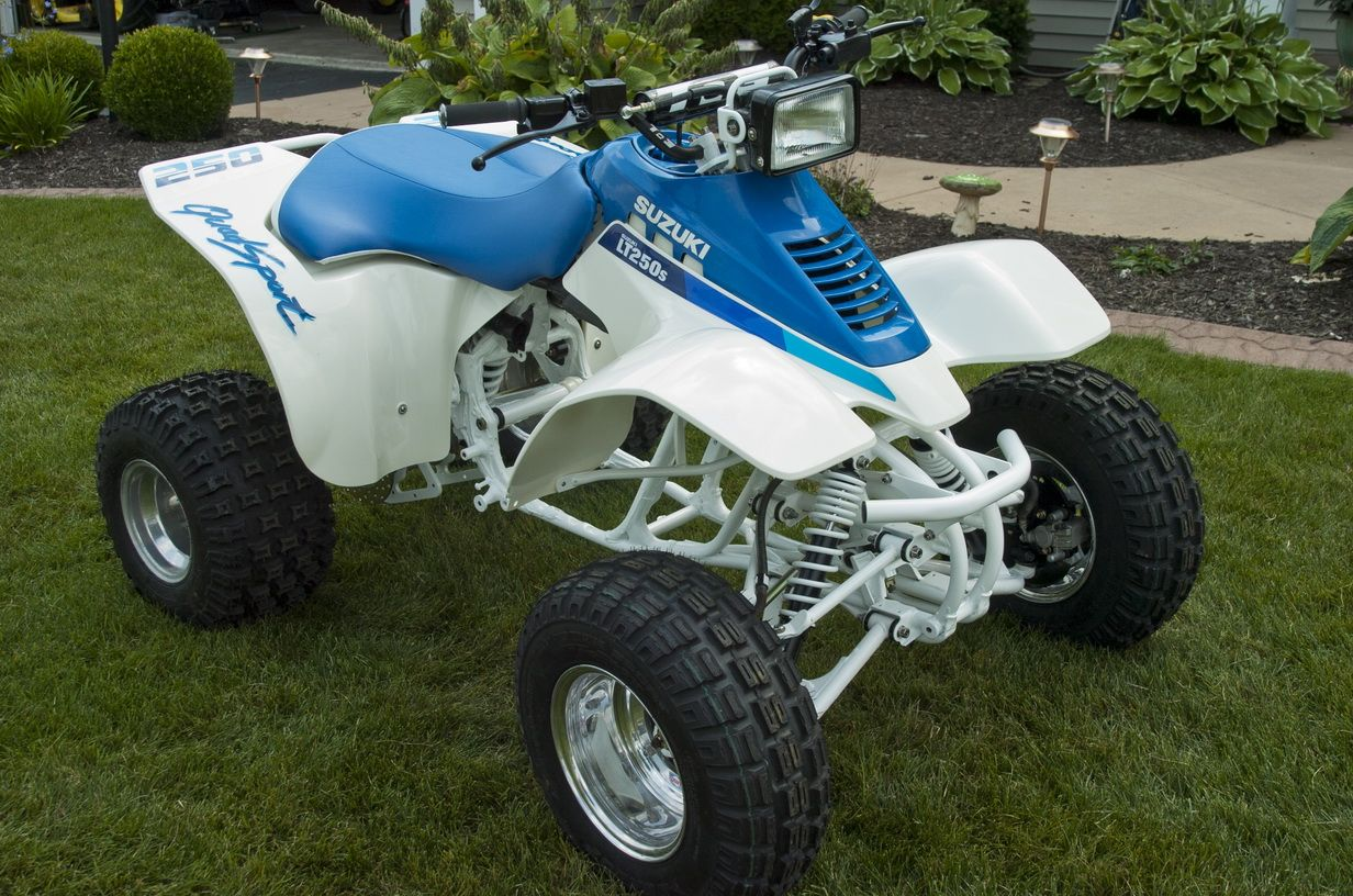 The 1990 #Suzuki #LT250s is almost finished. #ATV