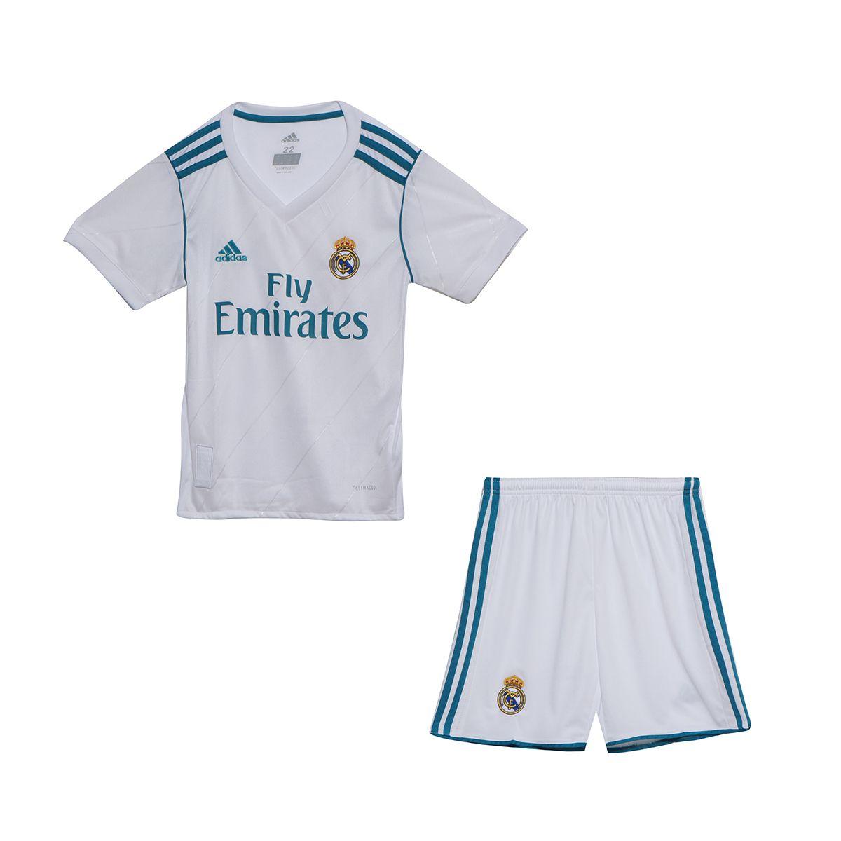 f3791a410d6 17-18 Real Madrid Home Children's Jersey Kit(Shirt+Short) -  www.jerseymate.com
