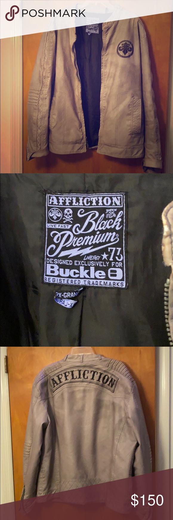 Affliction Leather Jacket Jackets, Tan leather jackets
