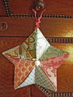 Photo of Easy Origami Star Ornaments for the Holidays – Quilting Digest