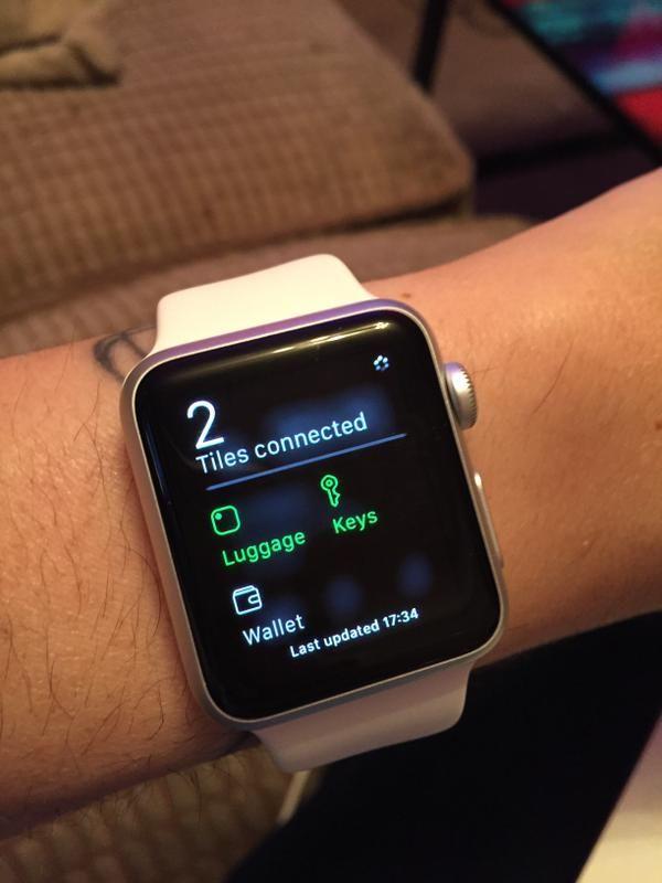 tile app apple watch